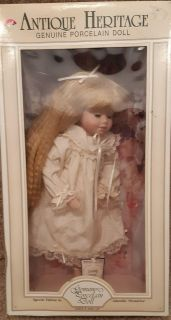 """NEW 16"""" """"Adorable Memories"""" Genuine Porcelain Doll Brand New In Box with tag Pick-up in Newmarket"""