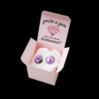 Get Custom Printed Earring Boxes