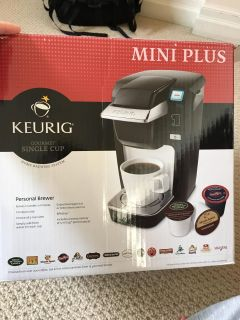 Keurig mini and device for using coffee