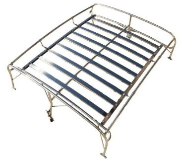 Purchase QSC Volkswagen VW Type 1 Bug Beetle Stainless Steel Roof Rack Fits All Year motorcycle in Ontario, California, United States
