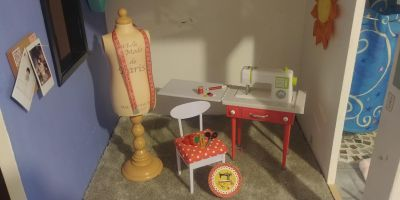 Our Generation Doll Sewing room