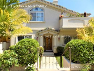 Spacious 3 Bed + 2.5 Bath in Redondo Beach for rent!