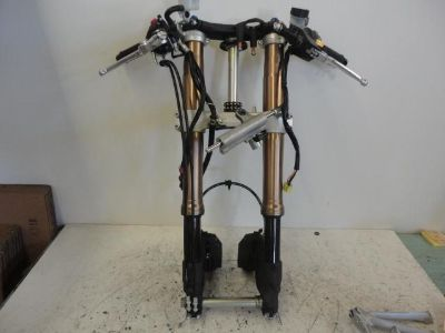 Find 07 08 SUZUKI GSXR 1000 COMPLETE FRONT END GSX-R 1000 FORKS TREES CALIPERS motorcycle in Stanton, California, US, for US $750.00