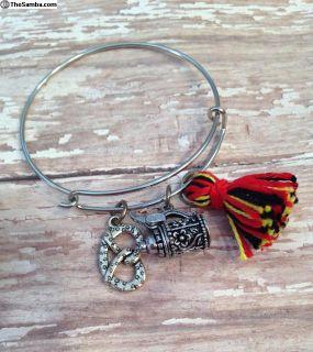 German Tassle Bangle Bracelet