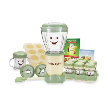 Magic Bullet BBR-2001 The Original Baby Bullet System 20pc Set New The Complete Baby Food Making System Brand new