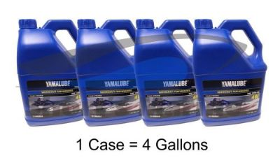 Find Yamaha Yamalube 10W-40 Mineral 4W 4-Stroke Watercraft Oil Case of 4 Gallons motorcycle in Millsboro, Delaware, United States, for US $71.39