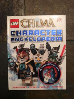 LEGO chima book with character
