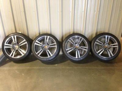 "Sell Porsche Panamera 20"" Turbo II Wheels And Michelin Pilot Sport Tires OEM NEW TPM motorcycle in Jonesboro, Arkansas, US, for US $4,495.00"