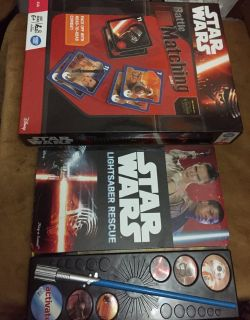 Star Wars Interactive Book and Matching Game
