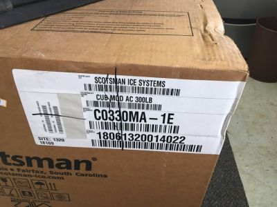 Scotsman Ice Systems Ice Machine (head only) (C0330MA-1E) 300 lbs