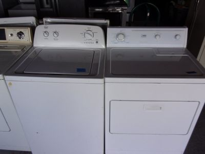 Whirlpool Roper Washer and Whirlpool Estate Dryer Set