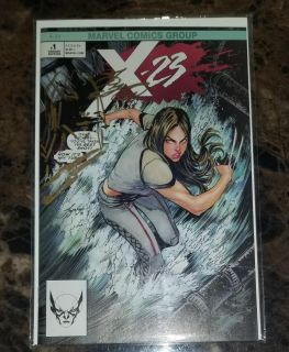 X-23 #1 Signed Comic Book