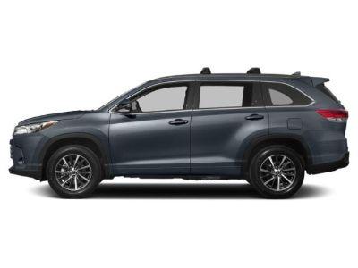 2019 Toyota Highlander (Shoreline Blue Pearl)