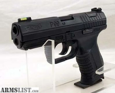 For Sale/Trade: Nice USED Walther P-99-AS Semiautomatic Pistol in .40S&W