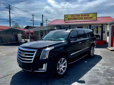 2017 Cadillac Escalade ESV Luxury (Black)