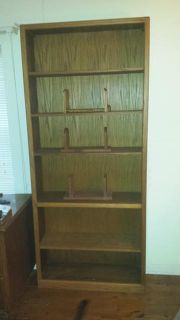 $250, Solid Oak Bookcases