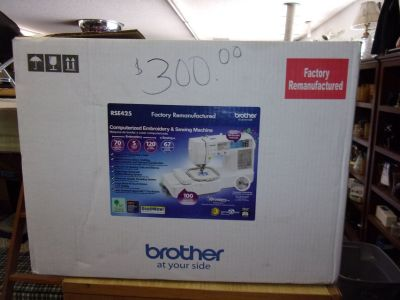 Brother New Embroidery and Sewing Machine