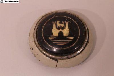 Original Wolfsburg Horn Button