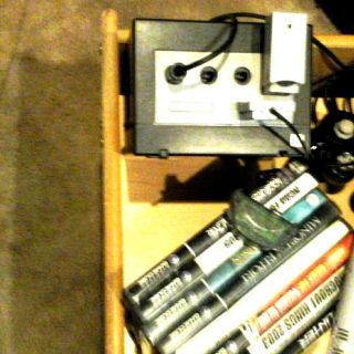 nintendo game cube 5 games and controller