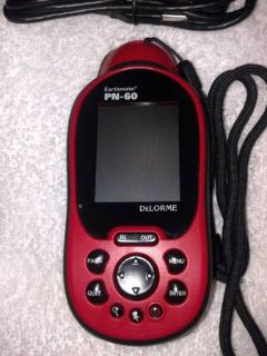 DELORME PN-60 GPS PERFECT FOR HUNTERSHIKERSFISHING