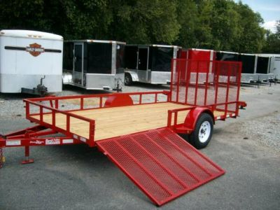 2018 utility trailers 76 x 12 side gate