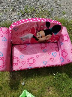 Minnie mouse seat and ABC floor puzzle