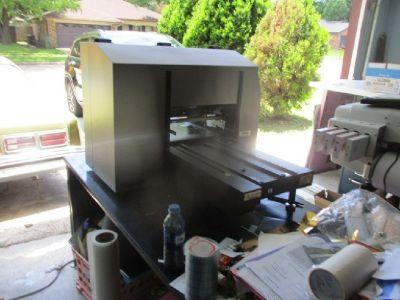 DCS Direct Jet 1800z15 UV LED Substrate Printer RTR# 9053071-01