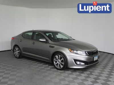2013 Kia Optima SX Turbo (Titanium Metallic)