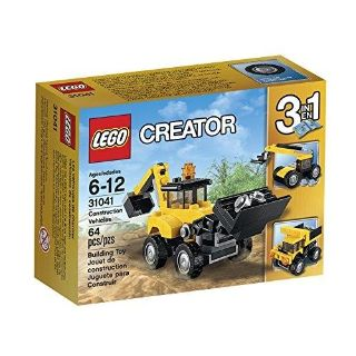 LEGO Creator Construction Vehicles 31041 - Used and Complete