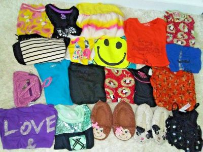 irls Size 6-8 Clothes Lot of 18 Items