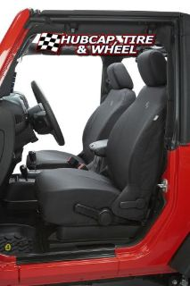 Buy BESTOP FRONT SEAT COVER FITS OE SEATS JEEP WRANGLER 2007-12 2/4Dr BLACK 29280-35 motorcycle in West Palm Beach, Florida, United States, for US $187.99