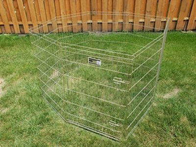 """Midwest Dog Pen - Collapsible with Door - 36"""" x 16' around"""