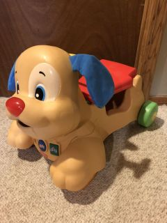 Fisher price ride and walk toy