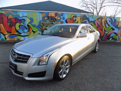 2013 Cadillac ATS 3.6L Luxury (silver)