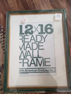 New in package picture frame
