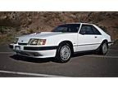 1986 Ford Mustang SVO Turbocharged