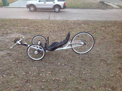 2012 Ice Vortex Recumbent Bike good condition $2,500OBO