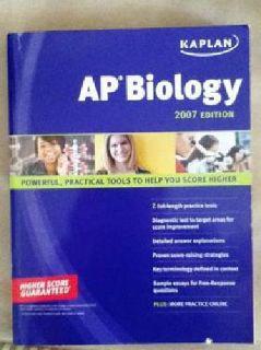 $8 AP Biology, Kaplan, 2007 Edition