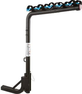 "Sell BLUE DEVIL 5 BIKE CARRIER BICYCLE RACK-2"" TRAILER HITCH SWING DOWN (BC-7626-3+2) motorcycle in West Bend, Wisconsin, US, for US $129.99"