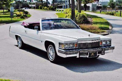 1979 Cadillac Convertible ~ Paris DeVille