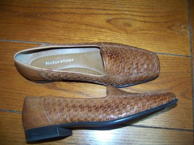 Naturalizer Woven Leather Flat