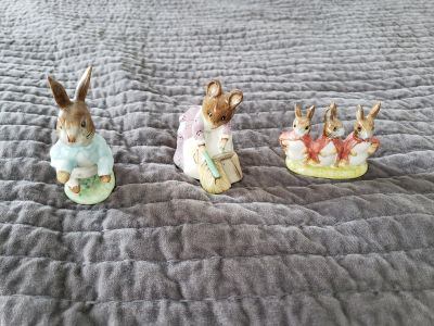 Petter rabbit collectables