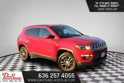 2018 Jeep Compass 2WD Latitude (Redline Pearlcoat - Red)