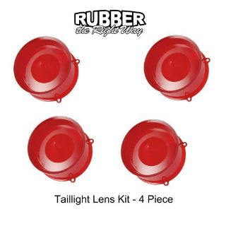 Purchase 1960 Ford Thunderbird Taillight Lens Kit - 4 Piece motorcycle in San Diego, California, United States, for US $97.32