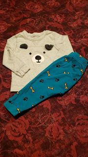12-18m old navy puppy outfit