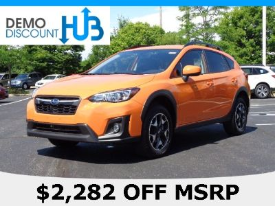 2019 Subaru Crosstrek (orange)