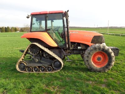 2010 Kubota M126X for sale in Lewisburg, PA.