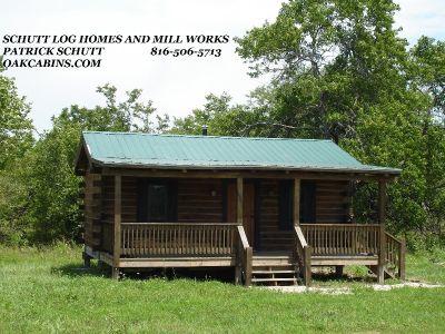 Oak Log Home kit- Schutt Log Homes and Mill Works