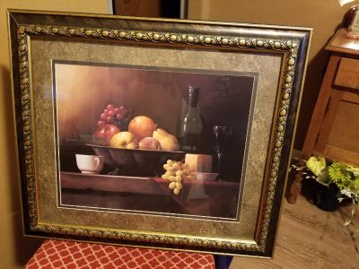 Framed Picture 29 x 25