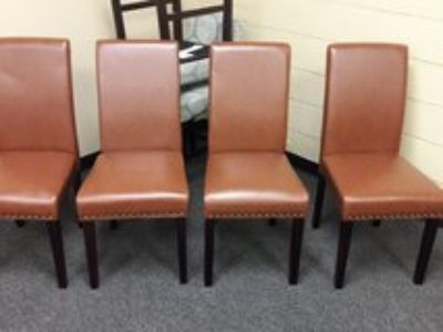 New Set of 4 Dining Chairs